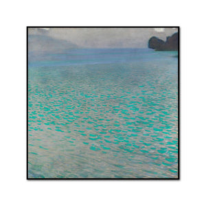 On Lake Attersee by Gustav Klimt Artblock
