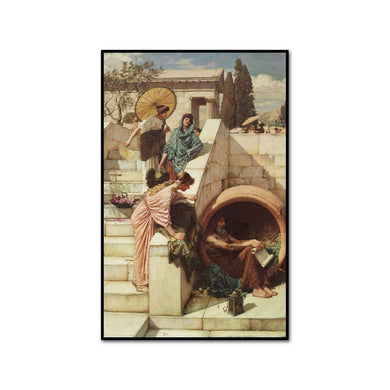 Diogenes by John William Waterhouse Artblock