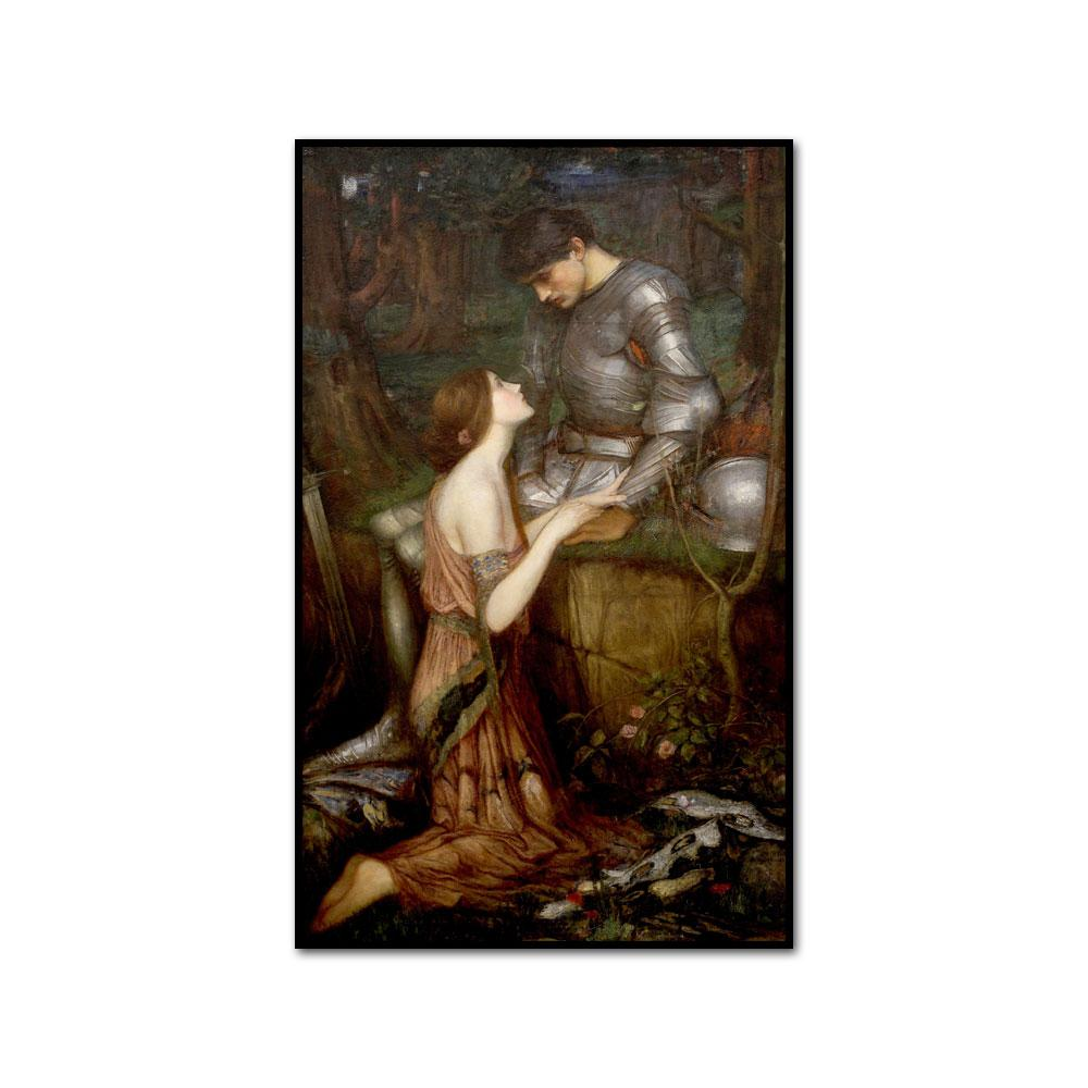 Lamia by John William Waterhouse Artblock