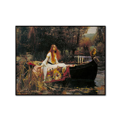The Lady of Shalott by John William Waterhouse Artblock