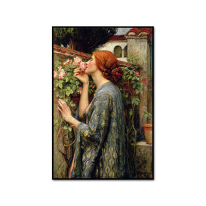 The Soul of the Rose by John William Waterhouse Artblock