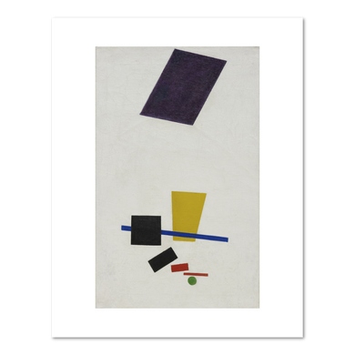 Kazimir Malevich, Painterly Realism of a Football Player - Color Masses in the 4th Dimension, summer-fall 1915, The Art Institute of Chicago. Fine Art Prints in various sizes by Museums.Co