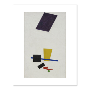 Kazimir Malevich, Painterly Realism of a Football Player - Color Masses in the 4th Dimension, summer-fall 1915, Fine Art Prints in various sizes by Museums.Co