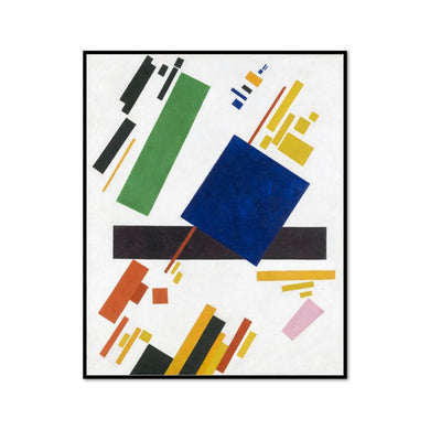 Kazimir Malevich, Suprematist Composition, Framed art print in black frame by 2020ArtSolutions