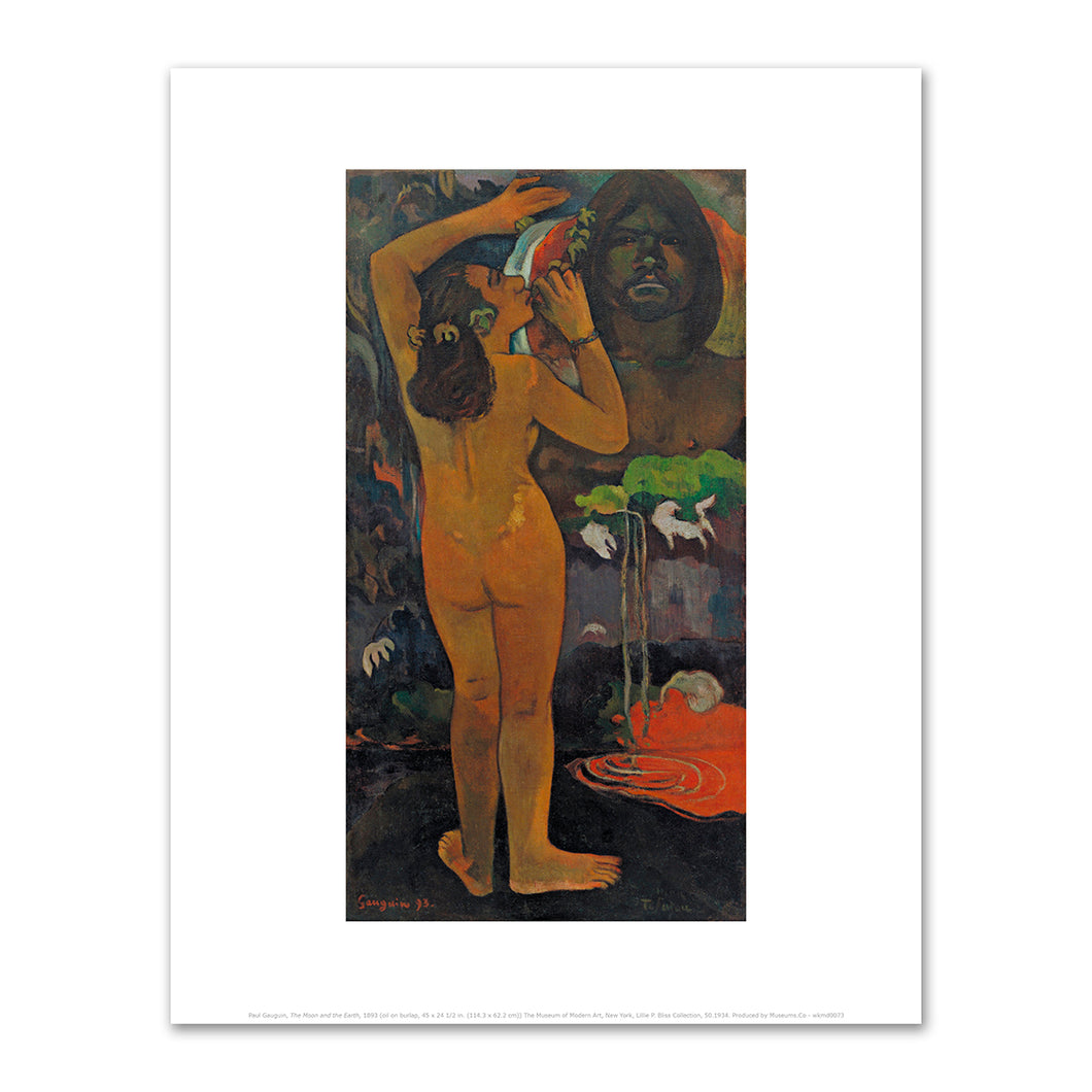Paul Gauguin, The Moon and the Earth, 1893, Fine Art Prints in various sizes by Museums.Co