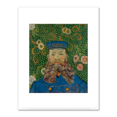 Vincent van Gogh, Portrait of Joseph Roulin, Arles, early 1889, Fine Art Prints in various sizes by Museums.Co