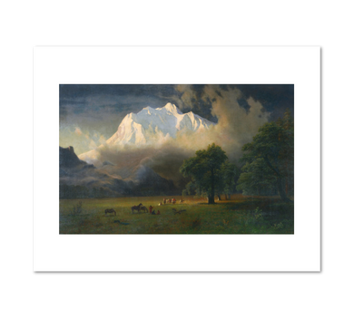 Albert Bierstadt, Mount Adams, Washington, 1875, Fine Art Prints in various sizes by Museums.Co