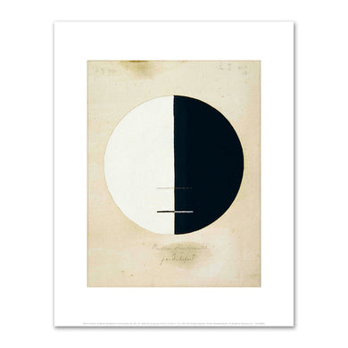 Hilma af Klint, Buddha's Standpoint in the Earthly Life, No. 3a, 1920, Fine Art Prints in various sizes by Museums.Co