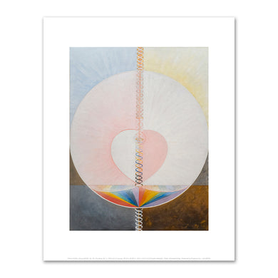 Hilma af Klint, Group IX/UW, No. 25, The Dove, No. 1, 1915, Fine Art Prints in various sizes by Museums.Co