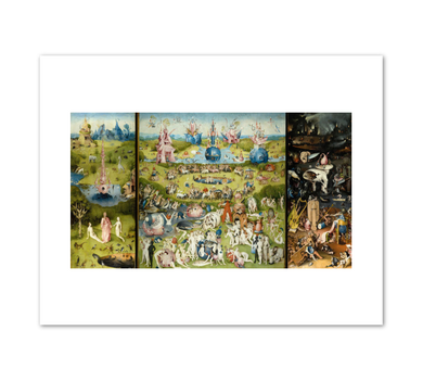 Hieronymus Bosch, Garden of Earthly Delights, 1480-1505, Fine Art Prints in various sizes by Museums.Co