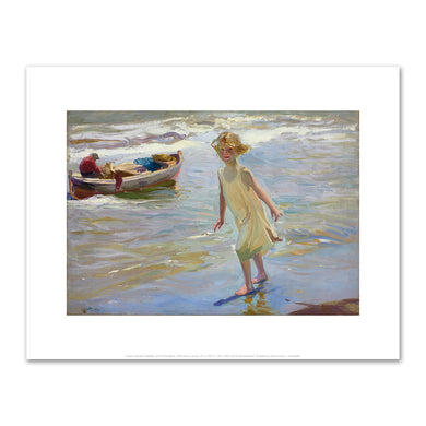 Joaquin Sorolla y Bastida, Girl on the Beach, 1910, Fine Art Prints in various sizes by Museums.Co