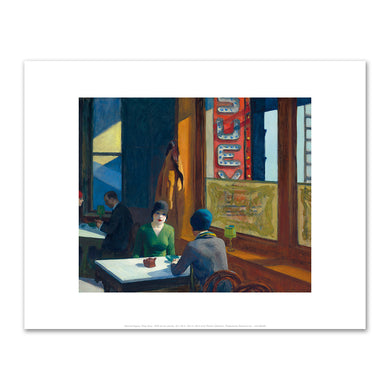 Edward Hopper, Chop Suey, 1929, Fine Art Prints in various sizes by Museums.Co
