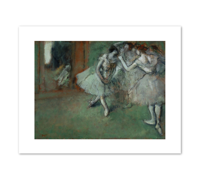 Edgar Degas, A Group of Dancers, c. 1898, Fine Art Prints in various sizes by Museums.Co