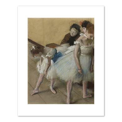 Edgar Degas, Examen de Danse (Dance Examination), 1880, Fine Art Prints in various sizes by Museums.Co