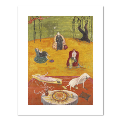 Florine Stettheimer, Heat, art prints in various sizes by 2020ArtSolutions