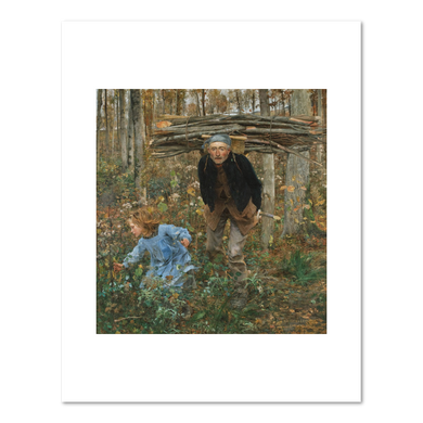 Jules Bastien-Lepage, Le Père Jacques (Woodgatherer), 1881, Fine Art prints in various sizes by Museums.Co