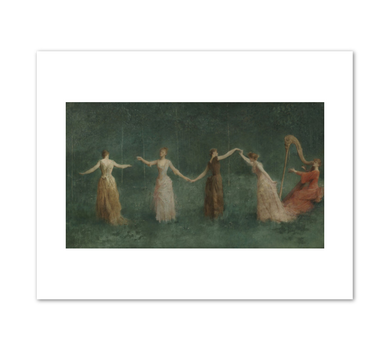Thomas Wilmer Dewing, Summer, 1890, Fine Art Prints in various sizes by Museums.Co