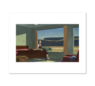 Edward Hopper, Western Motel, Fine Art Prints in various sizes by Museums.Co