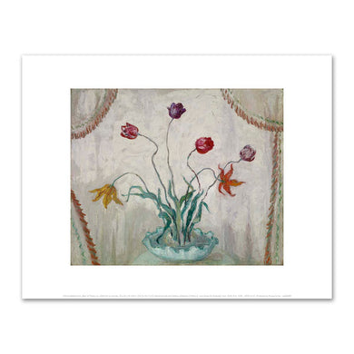 Florine Stettheimer, Bowl of Tulips, not dated, Fine Art Prints in various sizes by Museums.Co