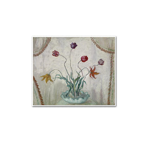 Bowl of Tulips by Florine Stettheimer Artblock