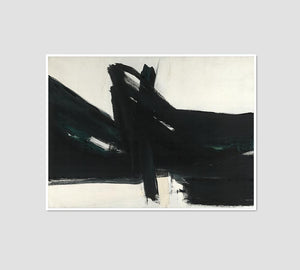 Franz Kline, Ravenna, 1961, Framed Art Prints with white frame in 3 sizes by Museums.Co