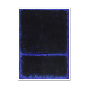 Mark Rothko, Untitled, ca. 1968, Framed Art Print with white frame in 3 sizes by Museums.Co