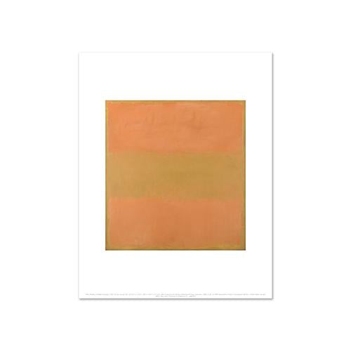 Mark Rothko, Untitled (Orange), Fine Art Prints in various sizes by Museums.Co