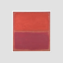 Mark Rothko, No. 3, Framed Art Print with white frame in 3 sizes by Museums.Co