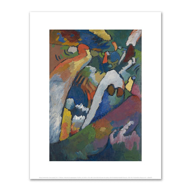 Wassily Kandinsky, Improvisation No. 7 (Storm), 1910, art prints in various sizes by 2020ArtSolutions