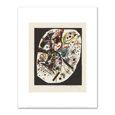 Wassily Kandinsky, Kleine Welten, III (Small Worlds, III)(full sheet), 1909, art prints in various sizes by 2020ArtSolutions