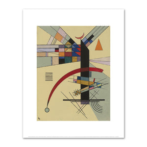 Wassily Kandinsky, Kleines Gelb (Small Yellow), 1926, Fine Art Print in 4 sizes by 2020ArtSolutions