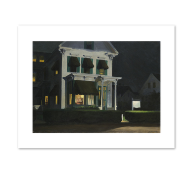 Edward Hopper, Rooms for Tourists, 1945, Fine Art Prints in various sizes by Museums.Co