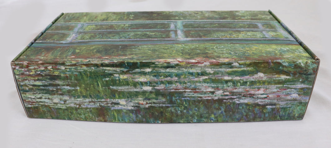 Claude Monet - Bridge over a pond of lily's - Master Piece Box