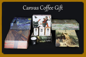 "Canvas Coffee ""Master Piece Gift"""