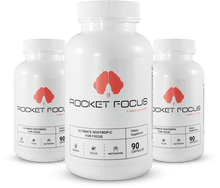 Load image into Gallery viewer, Rocket Focus® Natural Mental Performance - 3 Month Supply
