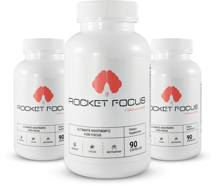 Rocket Focus® Natural Mental Performance - 3 Month Supply
