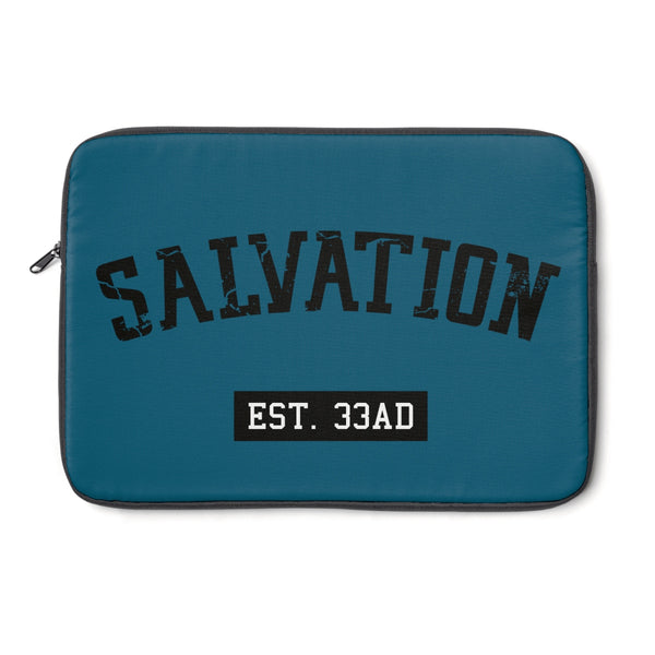 SALVATION EST. 33AD - Laptop Sleeve