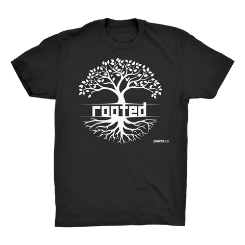 ROOTED ROOTED - Organic Adult T-Shirt