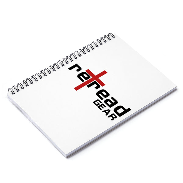 RETREAD GEAR - Spiral Notebook - Ruled Line