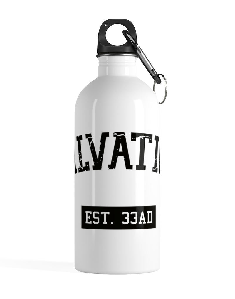 SALVATION EST. 33AD - Stainless Steel Water Bottle