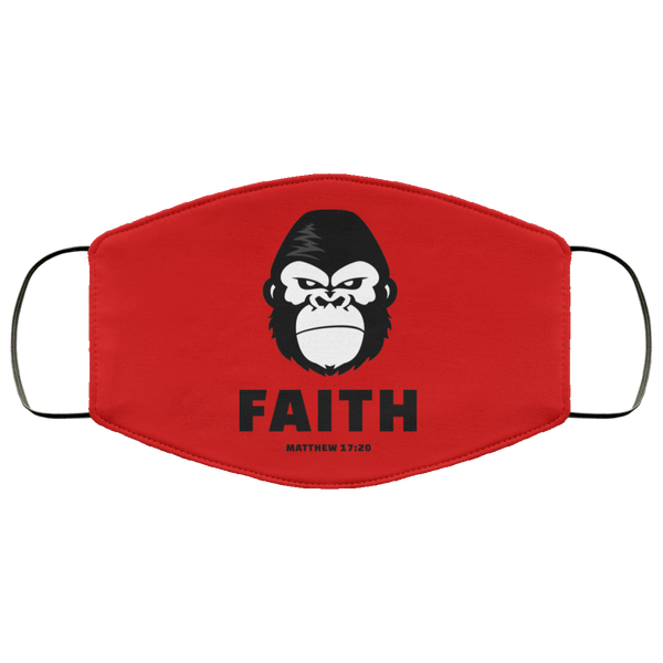 GORILLA FAITH Face Cover