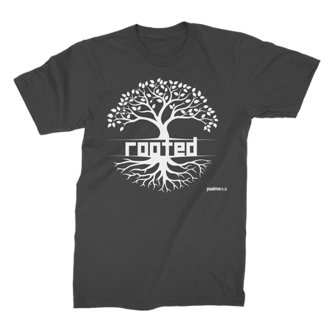 ROOTED ROOTED - Premium Jersey Men's T-Shirt