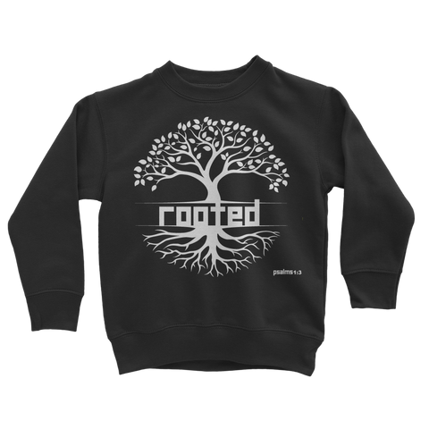 ROOTED ROOTED - Classic Kids Sweatshirt