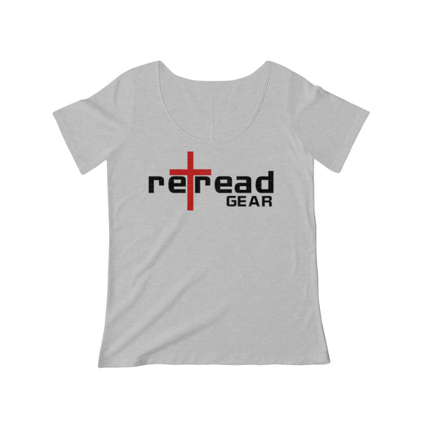 Signature Collection RETREAD GEAR Women's Scoop Neck T-shirt