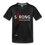 STRONG - Kids' Premium T-Shirt - charcoal gray