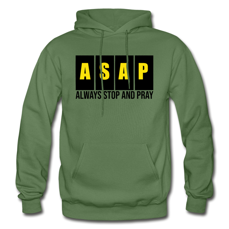 ASAP - Gildan Heavy Blend Adult Hoodie - charcoal gray