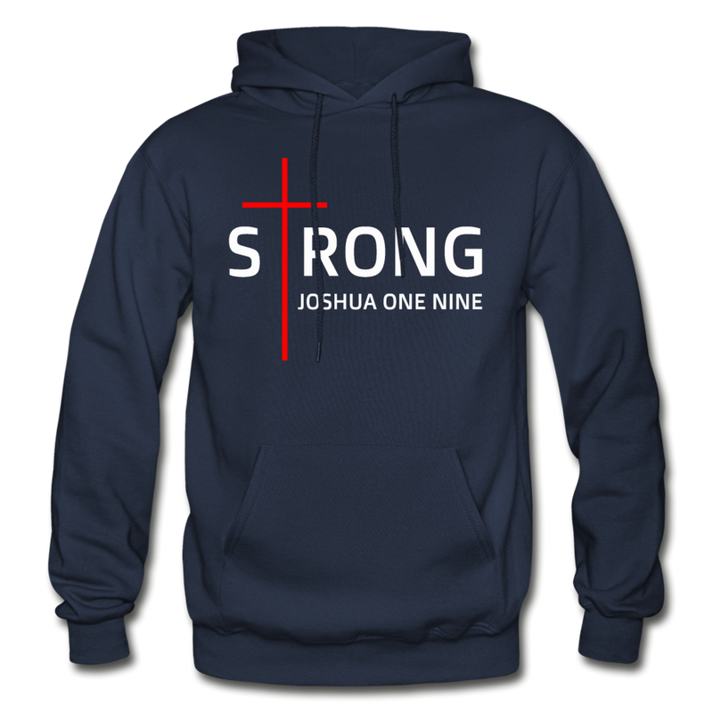 STRONG - Gildan Heavy Blend Adult Hoodie - navy