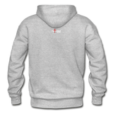 REDEEMED - Gildan Heavy Blend Adult Hoodie - heather gray