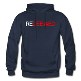 REDEEMED - Gildan Heavy Blend Adult Hoodie - navy