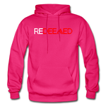 REDEEMED - Gildan Heavy Blend Adult Hoodie - fuchsia